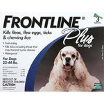 Frontline Flea Control Plus for Dogs And Puppies 23-44 lbs 3 Pack-Dog-Frontline-PetPhenom