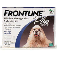Frontline Flea Control Plus for Dogs And Puppies 23-44 lbs 6 Pack-Dog-Frontline-PetPhenom