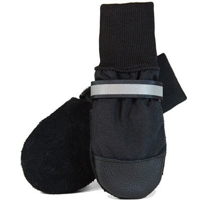 Muttluks Black All-Weather Muttluks (set of 4) -Extra Large-Dog-Muttluks-PetPhenom