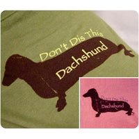 26 Bars & a Band Don't Dis This Dachshund Identi-tees - Large - Pink (P)-Dog-26 Bars & a Band-PetPhenom
