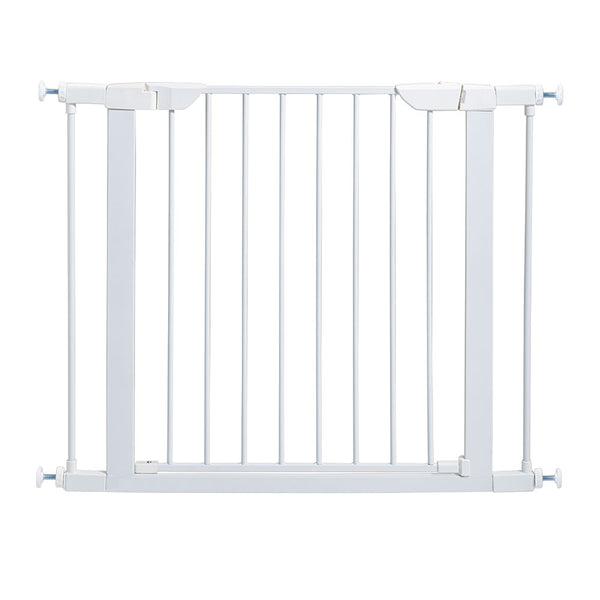 "Midwest Steel Pressure Mount Pet Gate White 29.5"" - 38"" x 1"" x 29.875""-Dog-Midwest-PetPhenom"