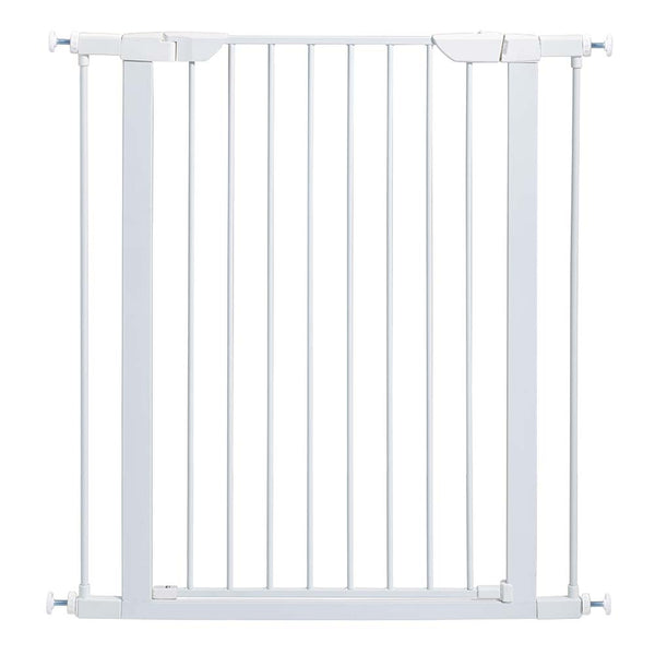 "Midwest Steel Pressure Mount Pet Gate White 29.5"" - 38"" x 1"" x 39.125""-Dog-Midwest-PetPhenom"