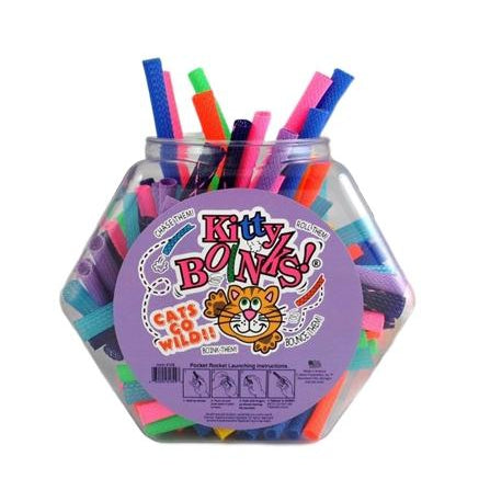 "Kitty Boinks Kitty Boinks Counter Display - 100 Pc - 5"" Assorted Neon Colors-Dog-Kitty Boinks-PetPhenom"