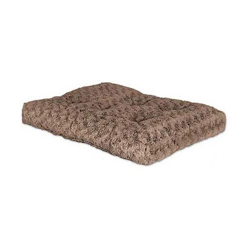"Midwest Quiet Time Deluxe Ombre' Dog Bed Mocha 23"" x 18""-Dog-Midwest-PetPhenom"