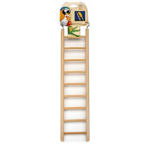 Penn Plax 9-Step Wooden Bird Ladder-Bird-Penn Plax-PetPhenom