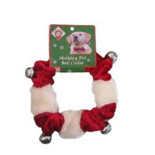 Outward Hound Kyjen Bell Holiday Red Collar, Small-Dog-Outward Hound-PetPhenom