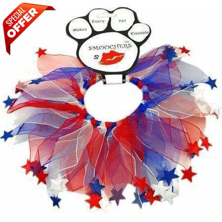 Mirage Pet Products Red White & Blue Star Smoochers-Dog-Mirage Pet Products-Small-PetPhenom