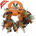 Charming Party Collar Spiders & Bats, Medium-Charming-PetPhenom