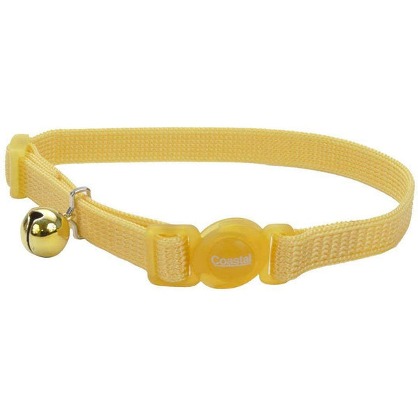 Safe Cat® Adjustable Snag-Proof Nylon Breakaway Collar, Banana Boat-Cat-Coastal Pet Products-PetPhenom
