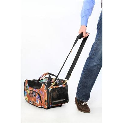 bark n bag® Old World Traveler Jetway by Bark-n-Bag Weekender-Dog-bark n bag®-PetPhenom