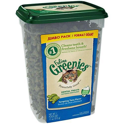 Greenies Feline Dental Treat Tempting Tuna-Cat-Greenies-PetPhenom