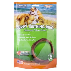 NBONE Dog TEETH RING Pumpkin 6PK-Dog-NBONE-PetPhenom