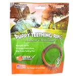 NBONE Dog TEETH RING Pumpkin 3PK-Dog-NBONE-PetPhenom