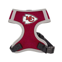 Hip Doggie Inc. Kansas City Chiefs Dog Harness Vest -S-Dog-Hip Doggie Inc.-PetPhenom