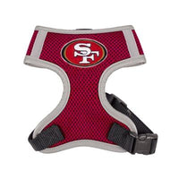 Hip Doggie Inc. San Francisco 49ers Dog Harness Vest -S-Dog-Hip Doggie Inc.-PetPhenom