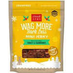 CloudStar WAGMORE DOG HOLIDAY JERKY TURKEY 4OZ-Dog-Cloud Star-PetPhenom