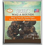 Tucker Dog Wag-a-Rounds Treat Liver Sweet Potato 6OZ-Dog-Tucker-PetPhenom