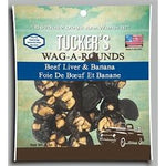 Tucker Dog Wag-a-Rounds Treat Liver/Banana 6OZ-Dog-Tucker-PetPhenom