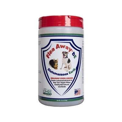 Flea Away DE Diatomaceous Earth - 12 oz-Dog-Flea Away-PetPhenom