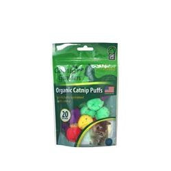 Multipet Catnip Garden Catnip Puffs 20 Count Bag-Cat-Multipet-PetPhenom