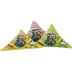 Duckyworld Yeowww! Triangle Refills (Yellow)-Cat-DuckyWorld Yeowww!-PetPhenom