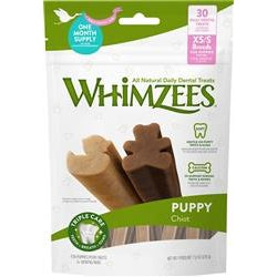 WHIMZEES Puppy Dental Dog Treats XSmall/Small 7.9OZ-Dog-Whimzee-PetPhenom