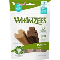 WHIMZEES Puppy Dental Dog Treats Medium/Large 7.4oz-Dog-Whimzee-PetPhenom
