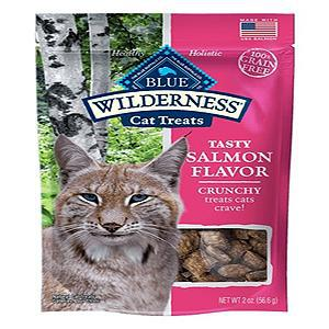 Blue Buffalo Cat Wilderness Grain Free Crunchy Salmon 2 Oz.-Cat-Blue Buffalo-PetPhenom