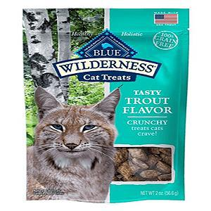 Blue Buffalo Cat Wilderness Grain Free Crunchy Trout 2 Oz.-Cat-Blue Buffalo-PetPhenom