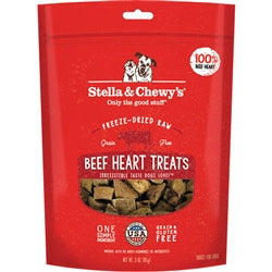 Stella & Chewy's Beef Heart Freeze-Dried Raw Dog Treats, 3-oz-Dog-Stella & Chewy's-PetPhenom
