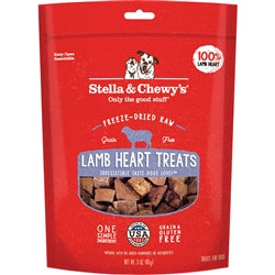 Stella & Chewy's Lamb Heart Freeze-Dried Raw Dog Treats, 3-oz-Dog-Stella & Chewy's-PetPhenom