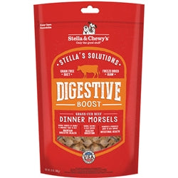 Stella & Chewy's Stella's Solutions Digestive Boost Freeze-Dried Raw Grass-Fed Beef Dinner Morsels Dog Food, 13-oz-Dog-Stella & Chewy's-PetPhenom