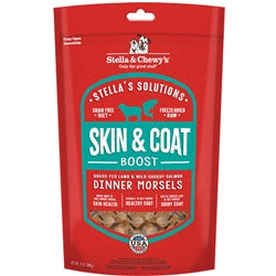 Stella & Chewy's Stella's Solutions Skin & Coat Boost Freeze-Dried Raw Grass-Fed Lamb & Wild-Caught Salmon Dinner Morsels Dog Food, 13-oz-Dog-Stella & Chewy's-PetPhenom