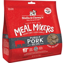Stella & Chewy's Meal Mixers Purely Pork Freeze-Dried Raw Dog Food Topper, 18oz-Dog-Stella & Chewy's-PetPhenom
