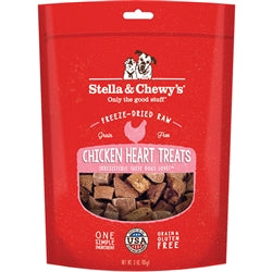 Stella & Chewy's Chicken Hearts Freeze-Dried Raw Dog Treats 11.5oz-Dog-Stella & Chewy's-PetPhenom