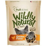 Fruitables Chicken Flavor Wildly Natural Cat Treats - 2.5oz. Pouch-Cat-Fruitables-PetPhenom