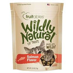 Fruitables Salmon Flavor Wildly Natural Cat Treats - 2.5oz. Pouch-Cat-Fruitables-PetPhenom