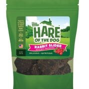 HARE Dog SLIDER Rabbit Cranberry 6 oz.-Dog-HARE-PetPhenom