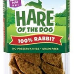 HARE Dog 100% Rabbit Jerky Medium 2.5 oz.-Dog-HARE-PetPhenom