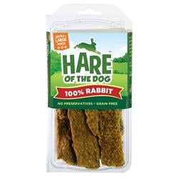 HARE Dog 100% Rabbit Jerky Large 2.5 oz.-Dog-HARE-PetPhenom