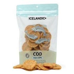Icelandic+ Fish Treat - Cod Fish Chips Single Bag-Dog-Icelandic-PetPhenom