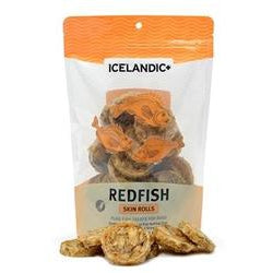Icelandic+ Redfish Skin Rolls Single Bag-Dog-Icelandic-PetPhenom