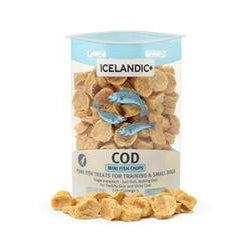 Icelandic+ Mini Cod Fish Chips for Training / Small Dogs 2oz Tube-Dog-Icelandic-PetPhenom