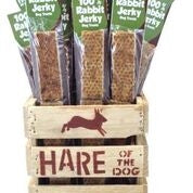 HARE Dog 100% Rabbit Jerky Refill (36 Piece)-Dog-HARE-PetPhenom