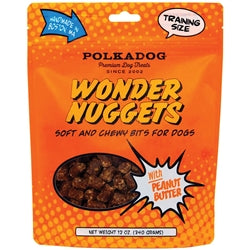 Wonder Nuggets with Peanut Butter 12 oz-Dog-Polka Dog-PetPhenom