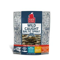 Plato Wild Caught Baltic Sprat 3 oz.-Dog-Plato-PetPhenom