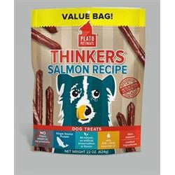Plato Thinkers Sticks Salmon 22 oz.-Dog-Plato-PetPhenom