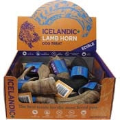 Icelandic+ Lamb Horn - 12-Piece Display Loose (Sized Approx. 6.5-7in)-Dog-Icelandic-PetPhenom