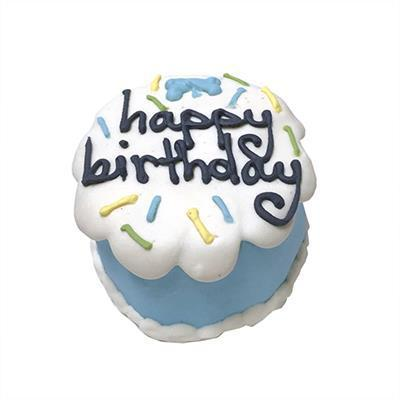 Bubba Rose Biscuit Co. Blue Birthday Baby Cake - Shelf Stable-Dog-Bubba Rose Biscuit Co.-PetPhenom