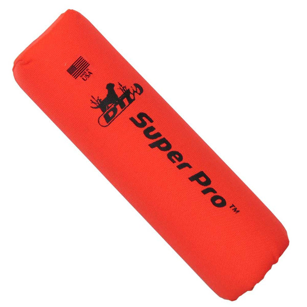 "D.T. Systems Flutter Launcher Dummy Orange 10"" x 3"" x 3""-Dog-D.T. Systems-PetPhenom"